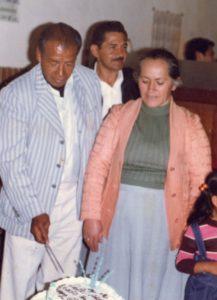 Pedro Simbaña y Zoila Cabezas
